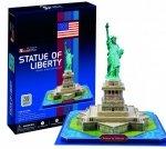 Cubic Fun Puzzle 3D Statua Wolności