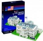 Cubic Fun Puzzle 3D Biały Dom