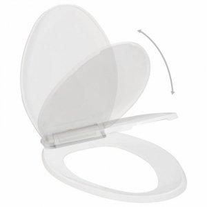 Deska sedesowa, wolnoopadająca, z szybkozłączem, biała