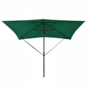 Zestaw pasków do mocowania parasola, czarny, polipropylen