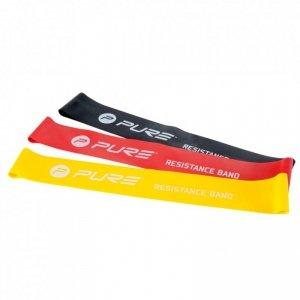 Pure2Improve Zestaw taśm oporowych, 3 szt., P2I800090