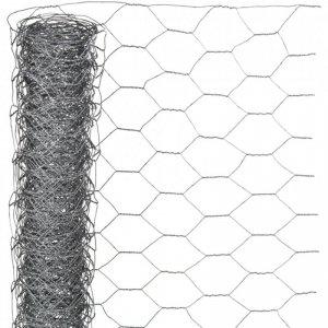Nature Siatka z drutu, sześciokątna 0,5x2,5 m 25 mm galwanizowana stal