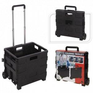 Home&Styling Składany wózek ręczny, aluminium i PP