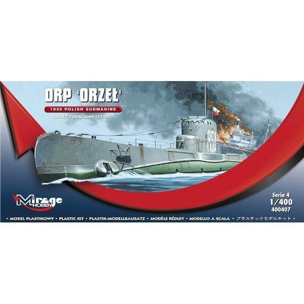 Mirage Okręt podwodny ORP Orzeł 1939