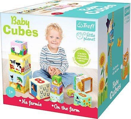 Trefl Baby cubes - Na farmie - Little planet