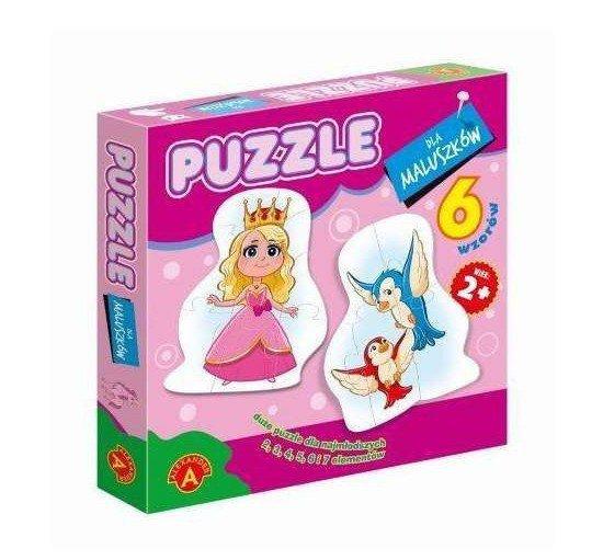 Alexander Puzzle dla maluszków Królewna