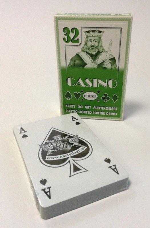 Karty Casino 32 listki