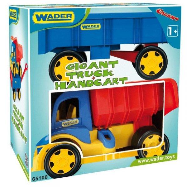 Wader Wywrotka z przyczepą 107 cm Gigant Truck