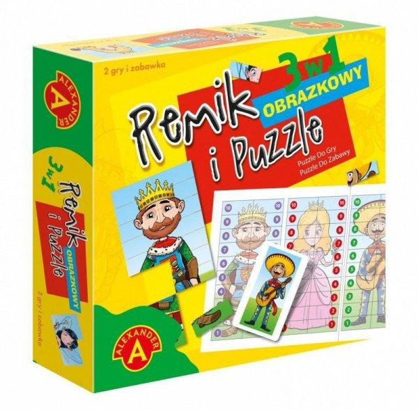 Alexander Gra Remik obrazkowy i puzzle