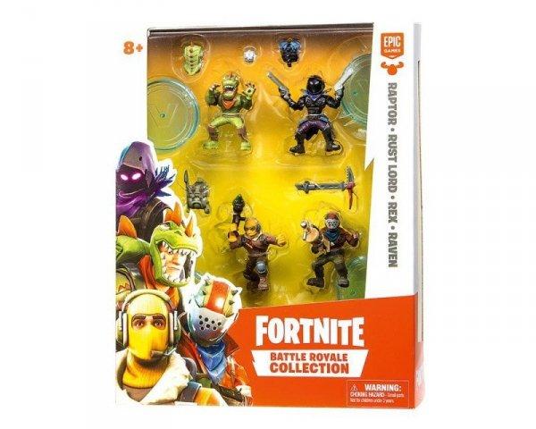 Epee Figurki Fortnite 4-pak z akcesoriami Legendarny Squad