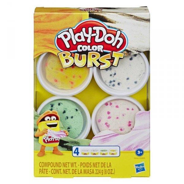Hasbro Masa plastyczna PlayDoh Color Burst Ice Cream Pack