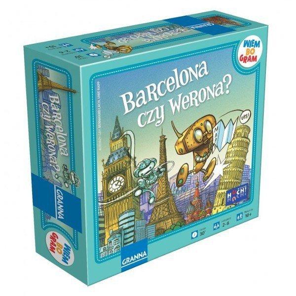 Granna Gra Barcelona czy Werona?