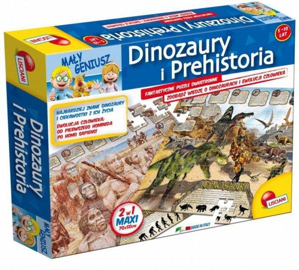 Lisciani Geopuzzle dinozaury Mały Geniusz