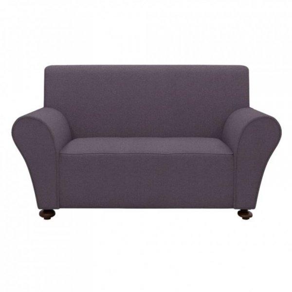 Elastyczny pokrowiec na sofę, z dżerseju, antracytowy