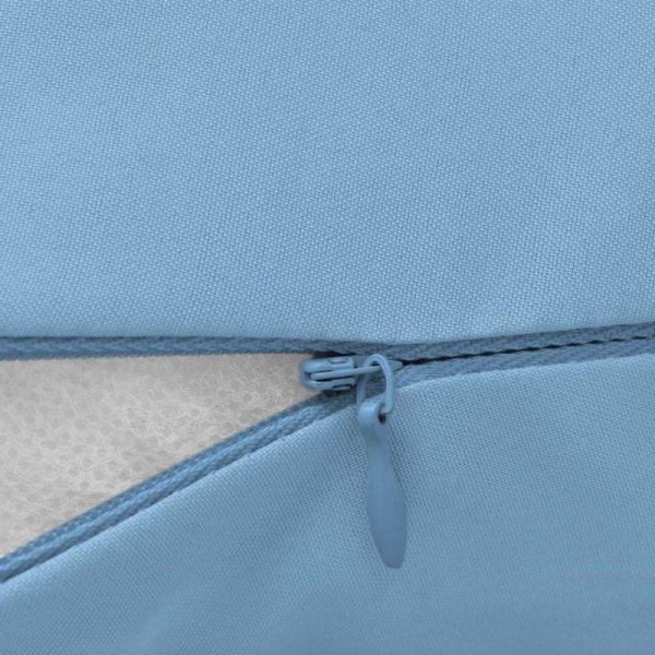 Poduszka dla ciężarnej 40x170 cm, jasnoniebieska