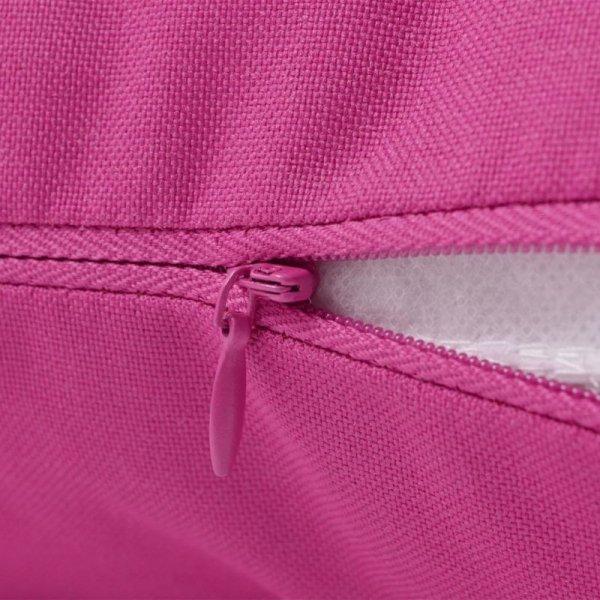 Poduszki na zewnątrz, 4 sztuki,  45x45 cm, kolor różowy