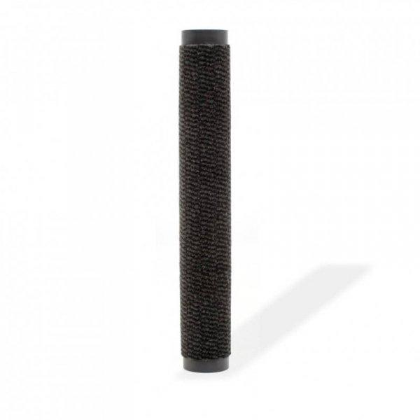 Prostokątna wycieraczka przed drzwi 120 x 180 cm, czarna