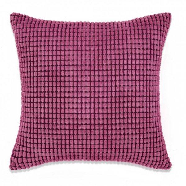 Zestaw 2 poduszek z weluru, w kolorze różowym, 60 x 60 cm
