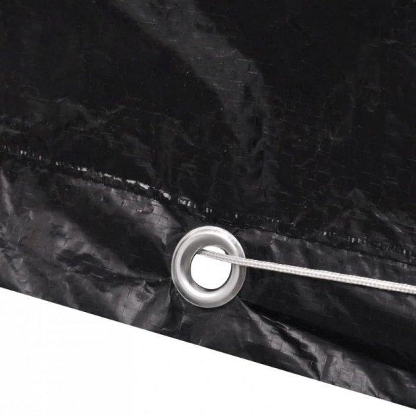 Pokrowiec na meble ogrodowe, 8 oczek, 172 x 113 x 73 cm