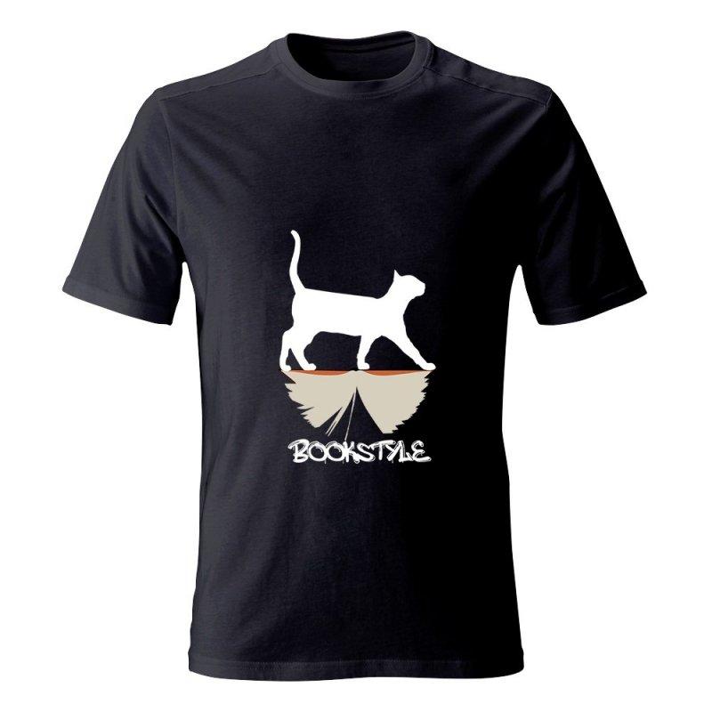 Koszulka męska BOOKSTYLE Cat