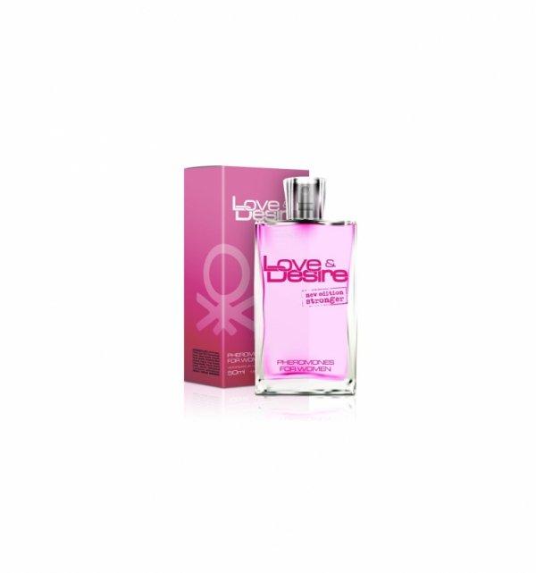 Feromony damskie - Love&Desire Pheromones for Women 50ml