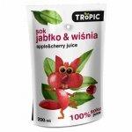 Sok jabłko-wiśnia bez dodatku cukru Tropic, 0,2l