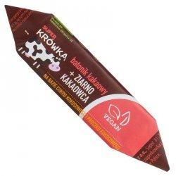 Batonik toffi z ziarnem kakaowca bezglutenowy Super Krówka BIO, 30g