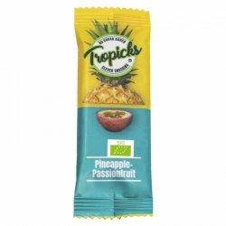 Batonik 96% ananas 4% marakuja Tropicks BIO, 20g