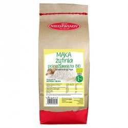 Mąka żytnia pełnoziarnista Młyn Niedźwiady BIO, 1kg
