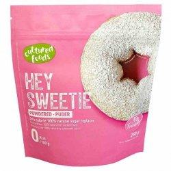 Hey Sweetie w pudrze - naturalny zamiennik cukru na bazie erytrytolu i stewii Cultured Foods, 250g