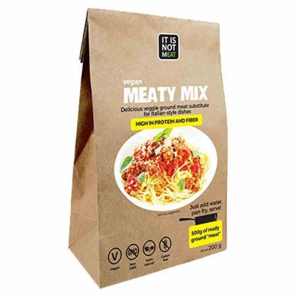 Vegan Meaty Mix roślinny zamiennik mięsa Cultured Foods, 200g