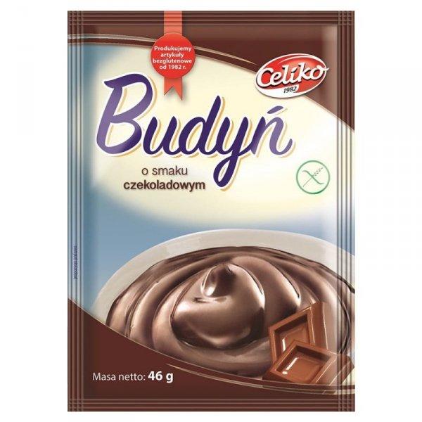 Budyń o smaku czekoladowym bez glutenu Celiko, 46g