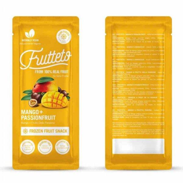 Lody sorbetowe do zamrożenia Mango - Marakuja Frutteto, 5x50g