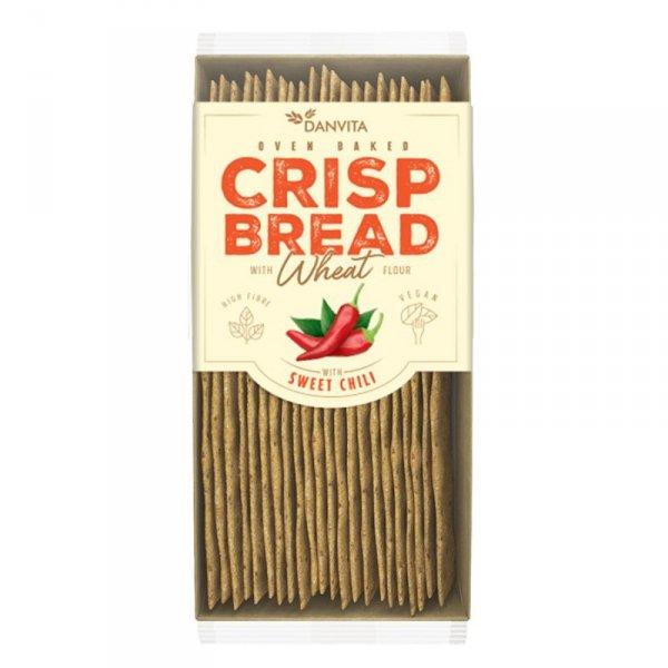Płaskie chlebki pszenne ze słodkim chili Danvita, 130g