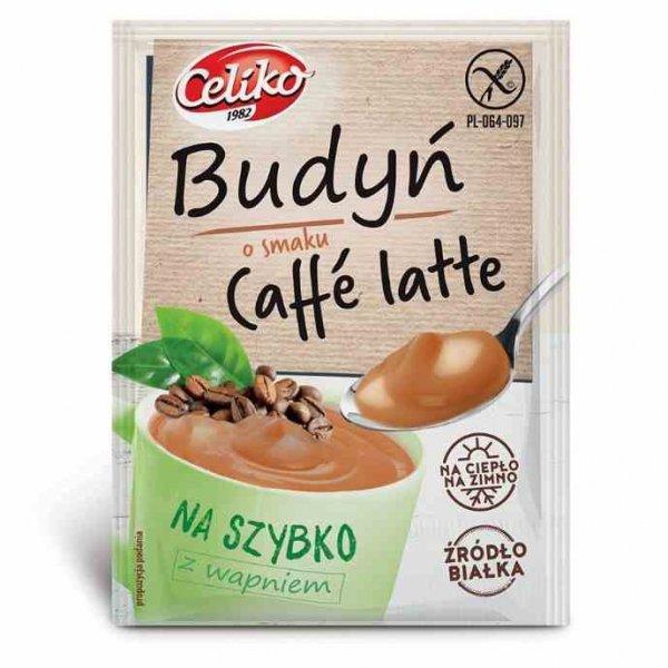 Budyń na szybko Caffe Latte bez glutenu Celiko, 37g