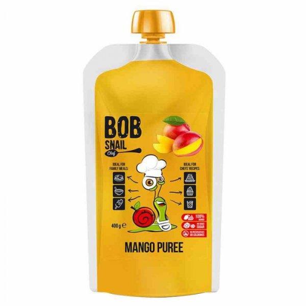 Puree z mango 100% owoców Bob Snail, 400ml