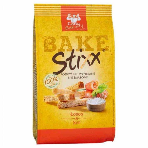 Paluszki chlebowe Łosoś i Ser BAKE Stixx, 60g