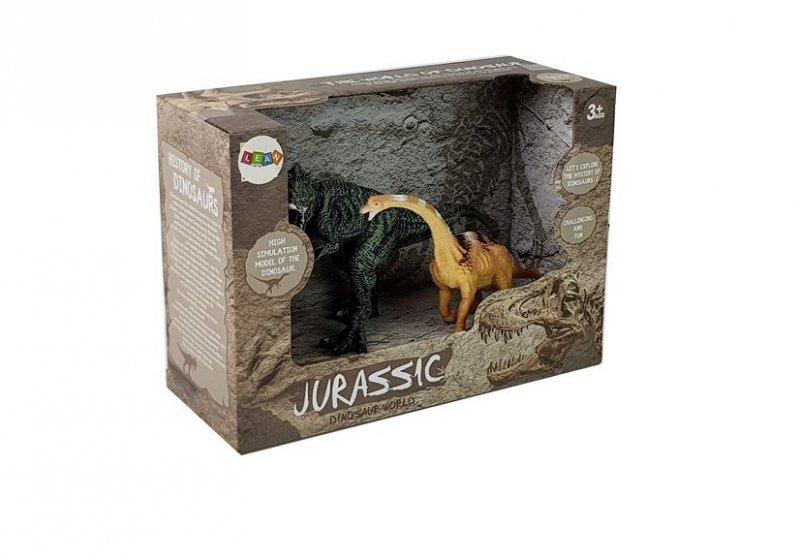 Zestaw Figurek Dinozaur Brachiosaurus, Tyranozaur Rex