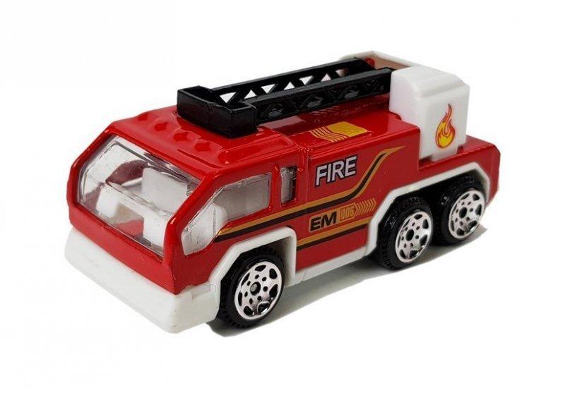Zestaw Pojazdów Straży Pożarnej Resoraki 1:64 6 Sztuk