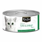 KIT CAT TUNA & SHRIMP (tuńczyk z krewetkami) 80g
