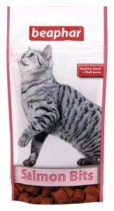 BEAPHAR SALMON BITS 35G - przysmak o smaku łososia z malt pastą dla kotów