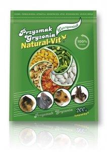 NATURAL VIT Przysmak gryzonia Ogród Warzywny 200g