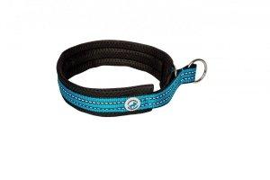 ALL FOR DOGS Sportowa obroża półzaciskowa Niebieska 35