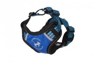 ALL FOR CATS Sportowe szelki Niebieski S dla kota