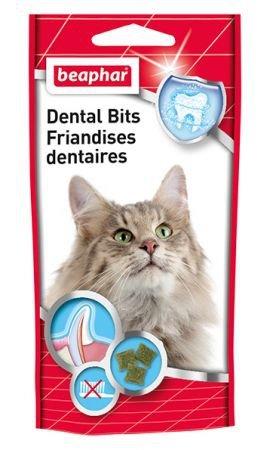 BEAPHAR DENTAL BITS 35G - przysmak na zęby dla kotów
