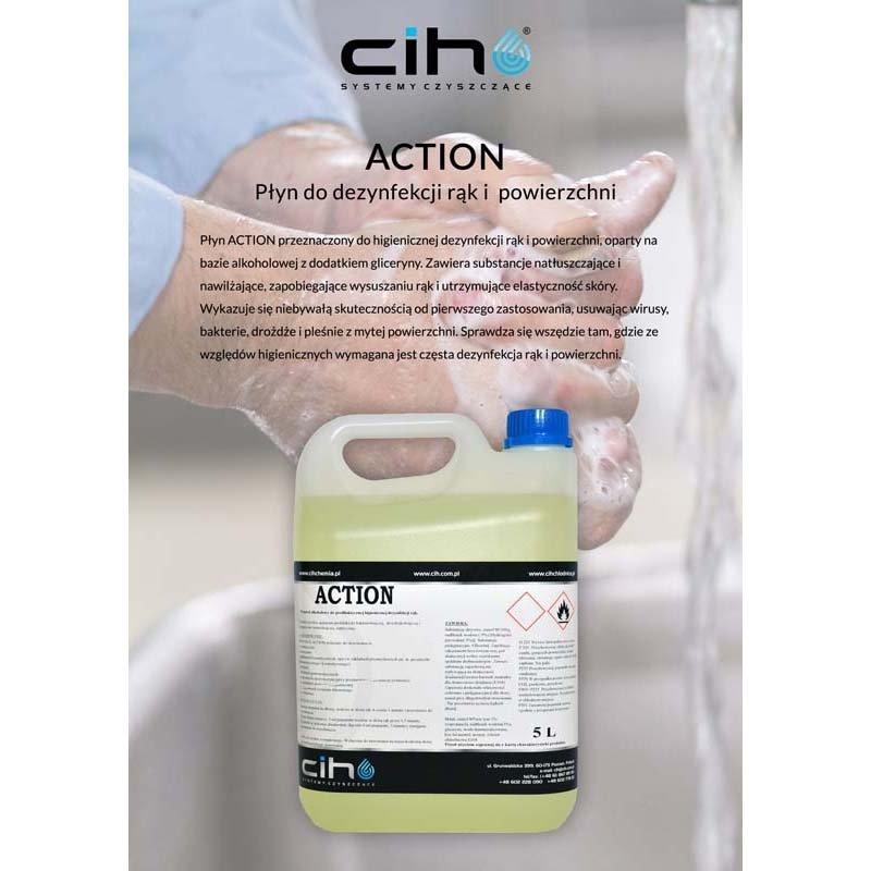Płyn dezynfekujący - ACTION 5L