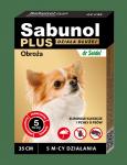 SABUNOL PLUS obroża przeciw pchłom i kleszczom dla psa 35 cm