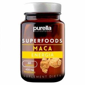 Maca, suplement diety Purella Superfoods, 60 kapsułek