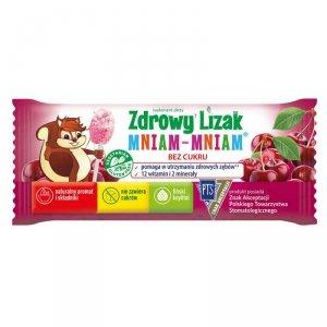 Zdrowy Lizak Mniam-Mniam o smaku musującej wiśni Starpharma, 6g
