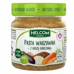 Pasta warzywna z kaszą gryczaną Helcom, 190g